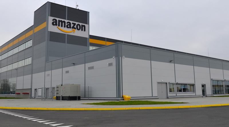 Centrum logistyczne Amazona w Kołbaskowie