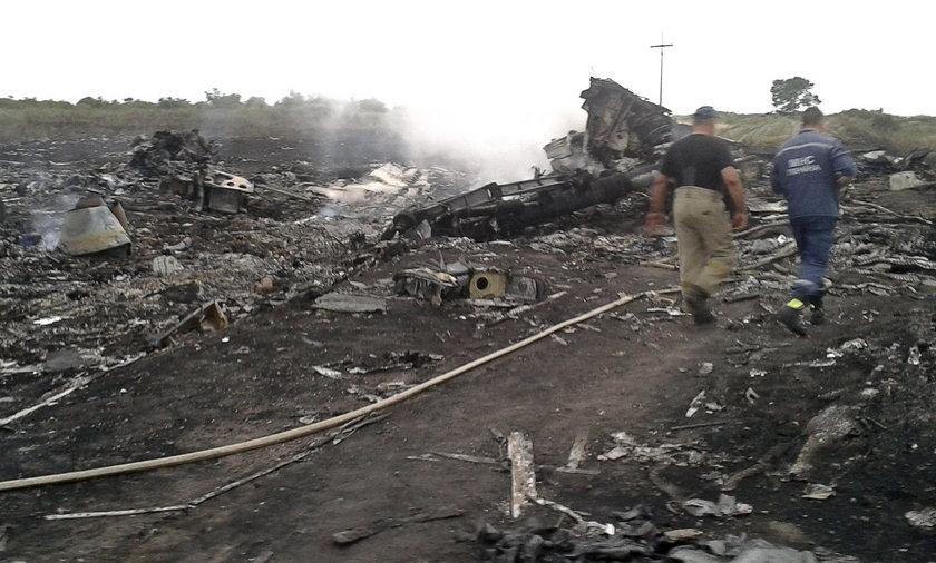 Katastrofa samolotu pasażerskiego na Ukrainie