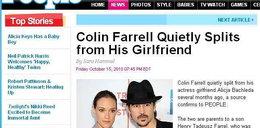 Farrell porzucił Alicję wiele miesięcy temu?