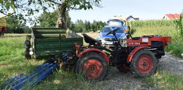 Tragedia podczas prac na polu. Prosty błąd kosztował 93-letniego rolnika życie
