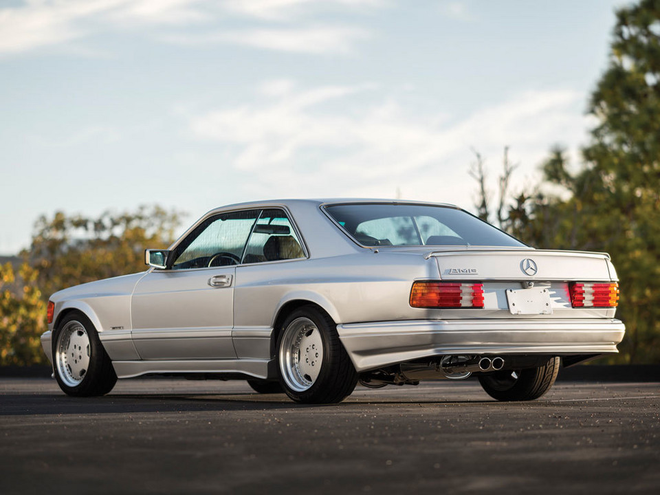 Mercedes-Benz 560 SEC AMG Wide Body 6.0