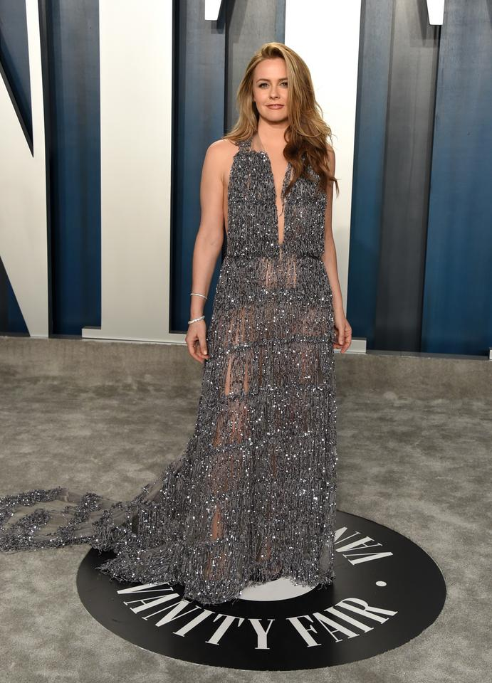 Oscary 2020: Alicia Silverstone na Vanity Fair Oscar Party