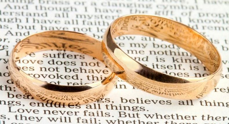 Wedding: Saying the 'I do's'