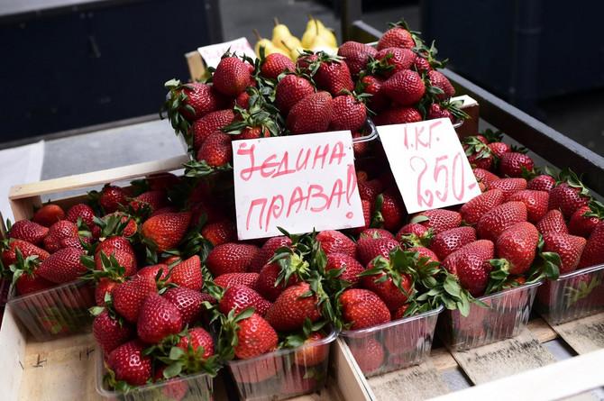 Trenutna cena jagoda je 250 dinara po kilogramu