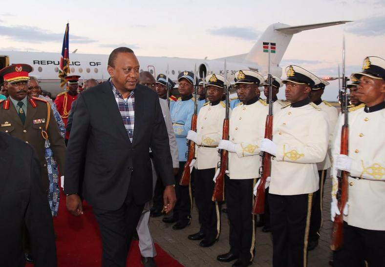 Uhuru silently leaves the country amid drought crisis