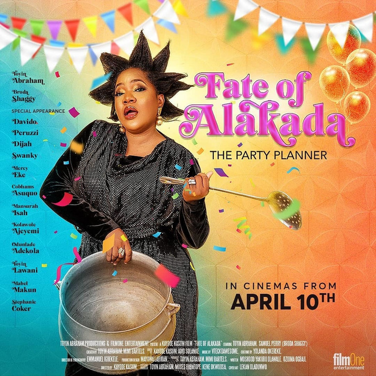 'Fate of Alakada' is the 5th Installment in the 'Alakada' comedy franchise