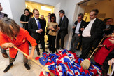 Ivan Grubanov, Katja Šenker, Filip Ge, Performans, Ambasada Švajcarske
