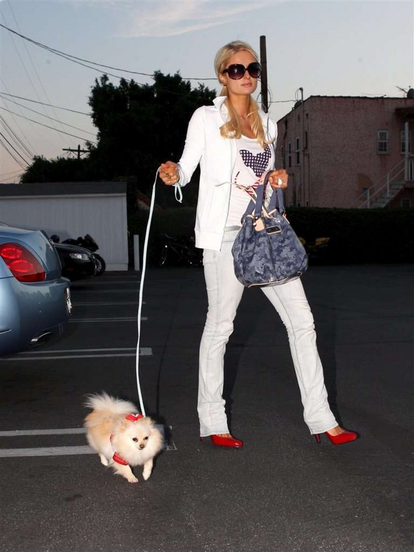 Hilton z Marilyn Monroe na zakupach