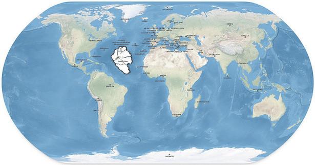 Atlantydę, wyspiarską utopię, umieszczano na mapach z pełną świadomością, że nie istnieje