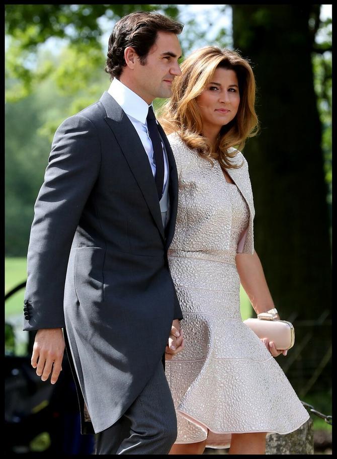 Federerovi stižu na venčanje godine