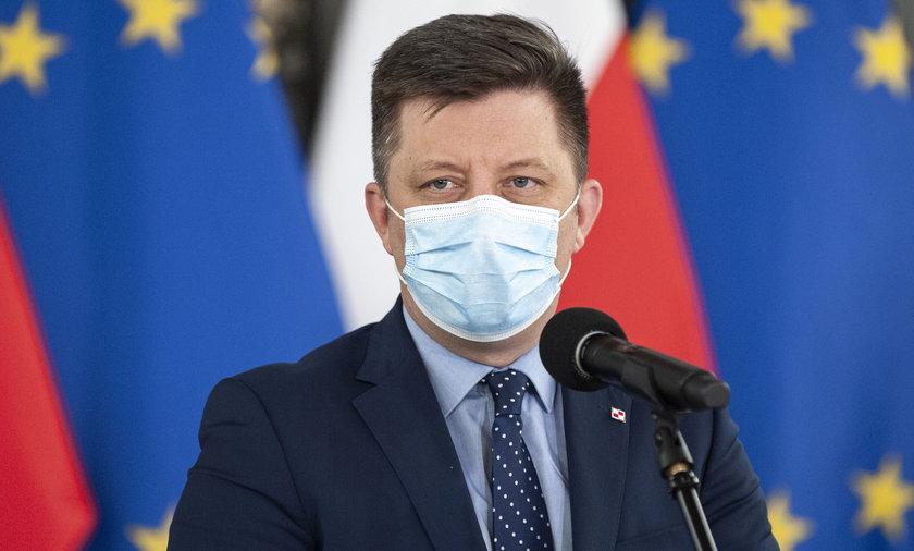 Na zdjęciu Michał Dworczyk.