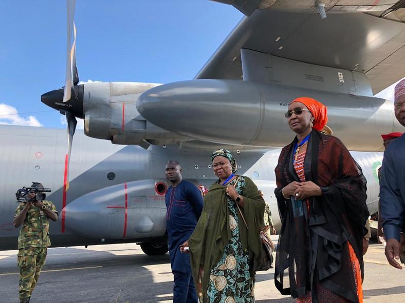 Minister of Humanitarian Services, Disaster Management and Internally Displaced Persons, Sa'adiya Faruk [Twitter/@Sadiya_farouq]