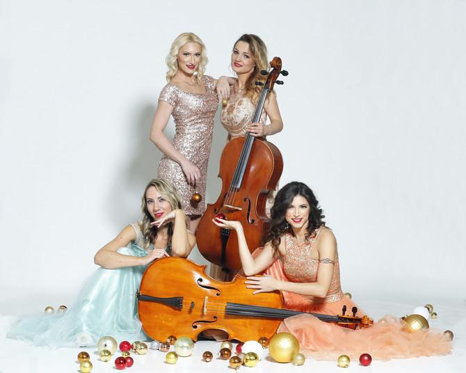 """Kvartet """"Mistik cello"""" nastupa u zemlji i u inostranstvu na brojnim manifestacijama, festivalima, ekskluzivnim događajima, proslavama, rođendanima, venčanjima..."""