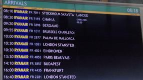 Lotnisko w Modlinie otwarte po 9 miesiącach - Ryanair wznowił rejsy