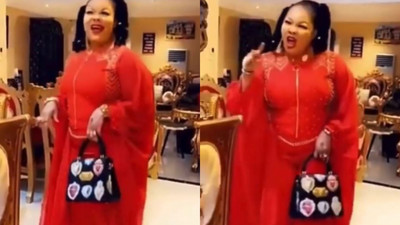 Video: Nana Agradaa first Sunday in church after converting