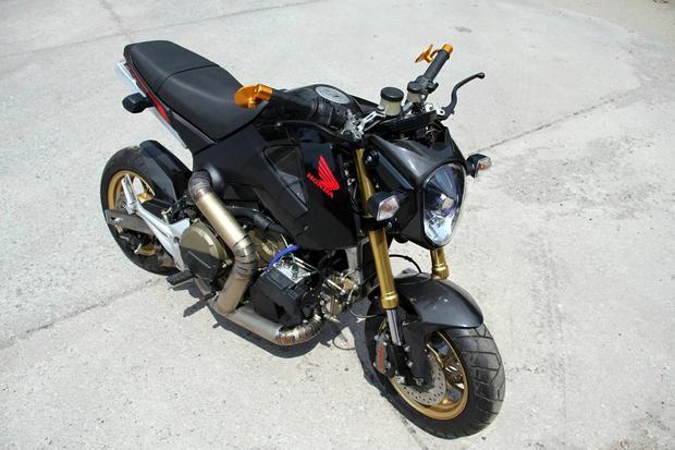 Honda MSX z potężnym silnikiem Ducati