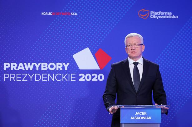 Kidawa-Błońska i Jaśkowiak biorą udział w prawyborach, które mają 14 grudnia wyłonić kandydata Platformy Obywatelskiej na prezydenta. W sobotę spotkali się w Warszawie na przedwyborczej debacie.