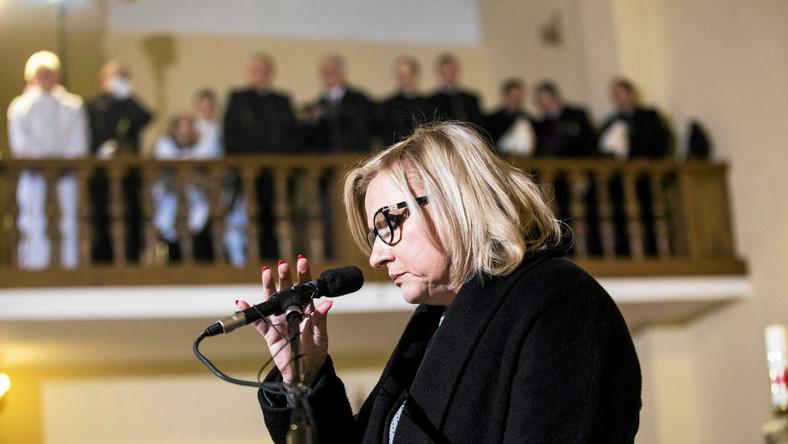 Beata Kempa w kościele