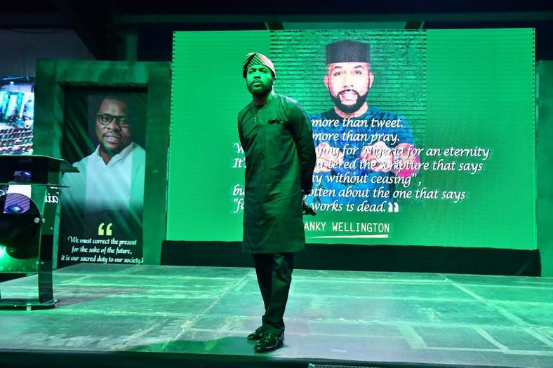 Banky W will be running for the house of rep seat of Eti-Osa federal constituency [Connect Nigeria]