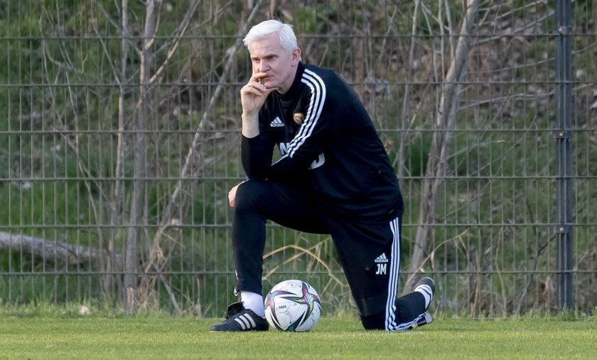Pilka nozna. PKO Ekstraklasa. Slask Wroclaw. Trening. 31.03.2021