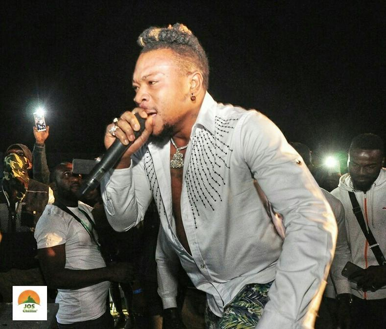 Mr Real performing at Jos Chillin' Mega Fiesta 2019