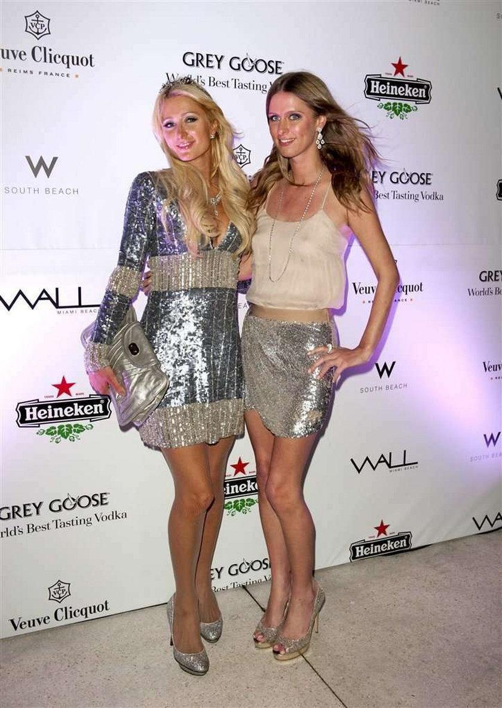 Paris Hilton i biały proszek