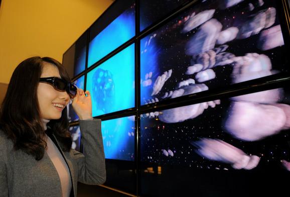 Za dvadesetak dana 3D televizori stižu na naše tržište