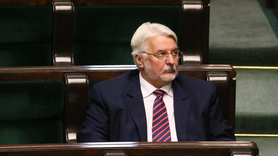 Witold Waszczykowski, były minister spraw zagranicznych, obecnie europoseł