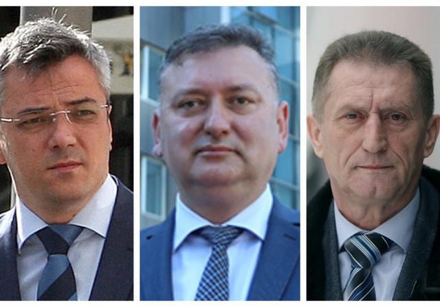 Ognjen Radić, Đorđe Popović i Dragomir Jovičić