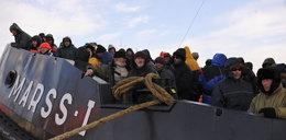 Groza! Ponad 200 osób dryfowało na krze po Bałtyku