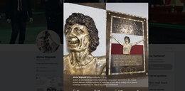 Koszmarna płaskorzeźba Szewińskiej. Internauci bezlitośni