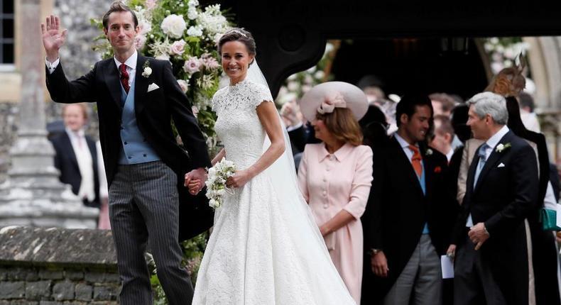 James Matthews and Pippa Middleton.