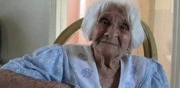 Zmarła w wieku 115 lat. Codziennie wypijała kieliszek brandy