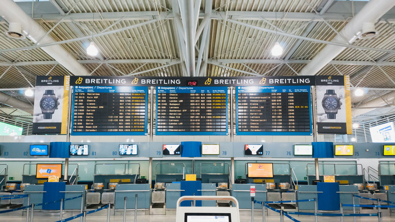 Grecja lotnisko