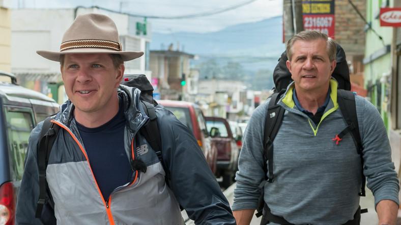 Filip Chajzer i Zygmunt Chajzer w Ameryka Express