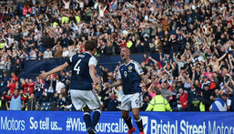 England and Scotland renew their long and acrimonious rivalry on Friday at Euro 2020 Creator: Paul ELLIS