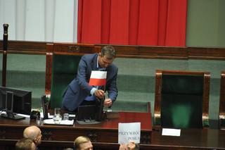 Halicki: Sejm pracuje, przerwał obrady, ale nie zakończył