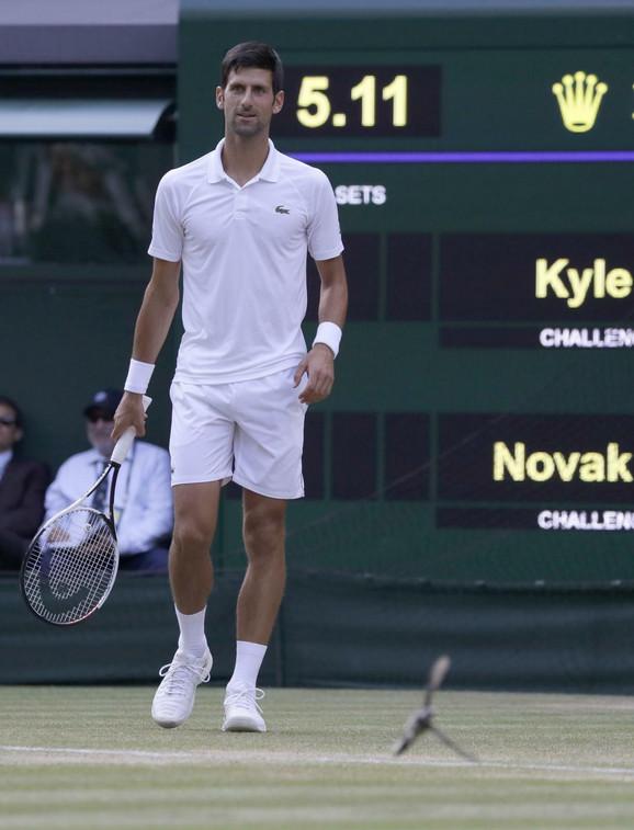 Novak preko Edmunda do osmine finala Vimbldona