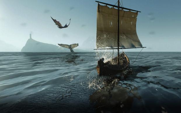 Wiedźmin 3: Dziki Gon - Geralt żeglarz
