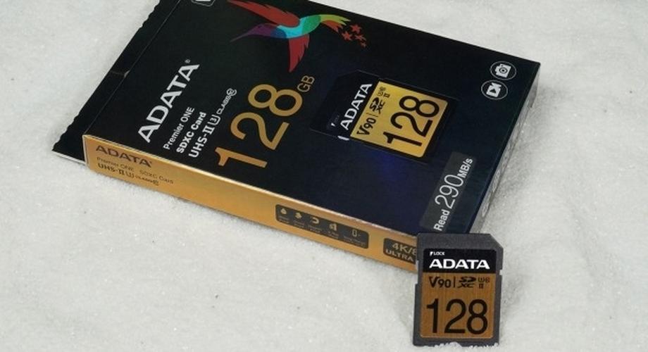 SD-Karte ADATA Premier One im Test: Schnell & günstig