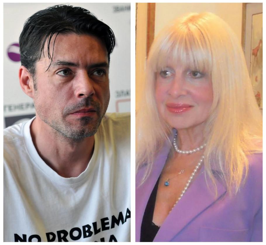 Igor Pervić i Jelena Tinska