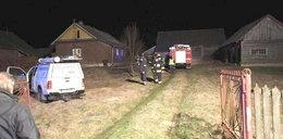 Wybuch gazu zrujnował dom pod Przeworskiem. Ranny emeryt