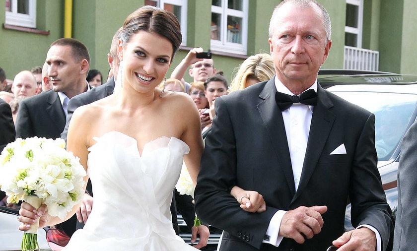 ślub Roberta Lewandowskiego i Anny Stachurskiej