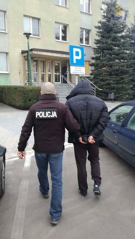 Zatrzymanie 46-latka z Lęborka