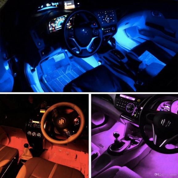 RGB LED svetlo