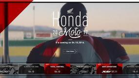 Honda rozpoczyna wielkie kuszenie przed Intermot i EICMA [wideo]