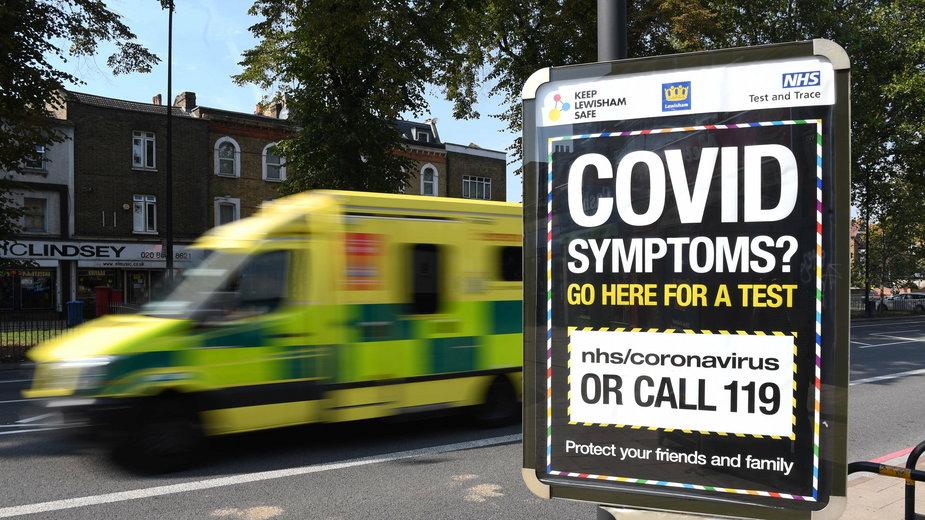W Wielkiej Brytanii potwierdzono w ciągu ostatniej doby 4422 nowe przypadki koronawirusa