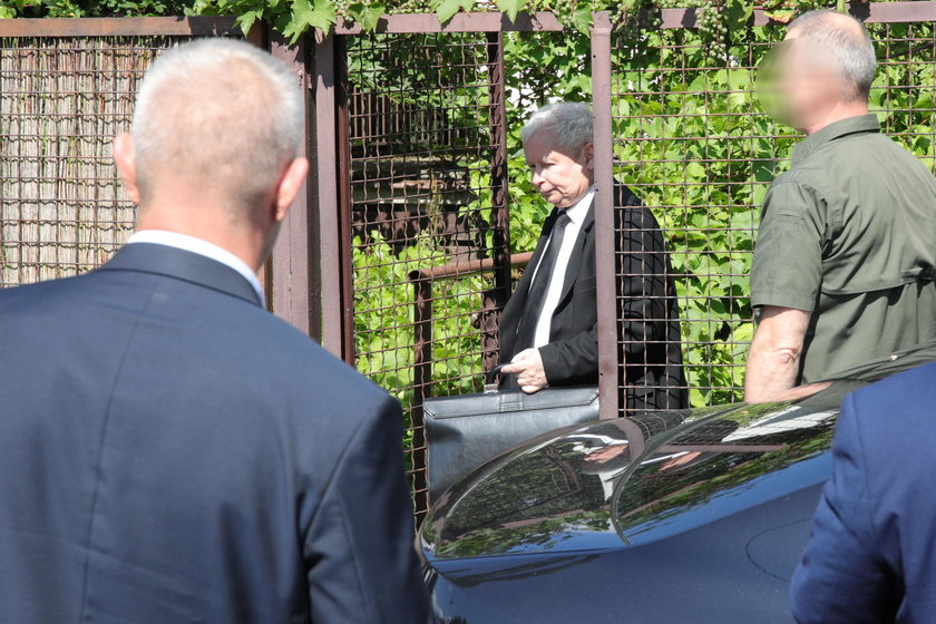 Jarosław Kaczyński spotkał się przed urlopem z premierem Mateuszem Morawieckim