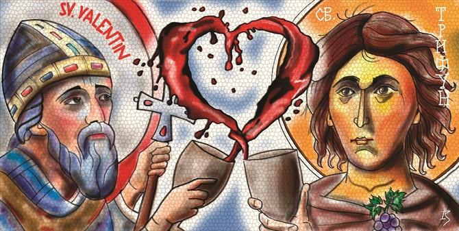 Sveti Valentin i Trifun