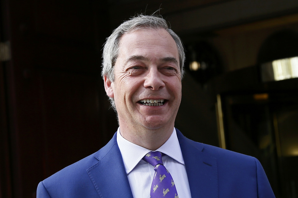 5. Nigel Farage